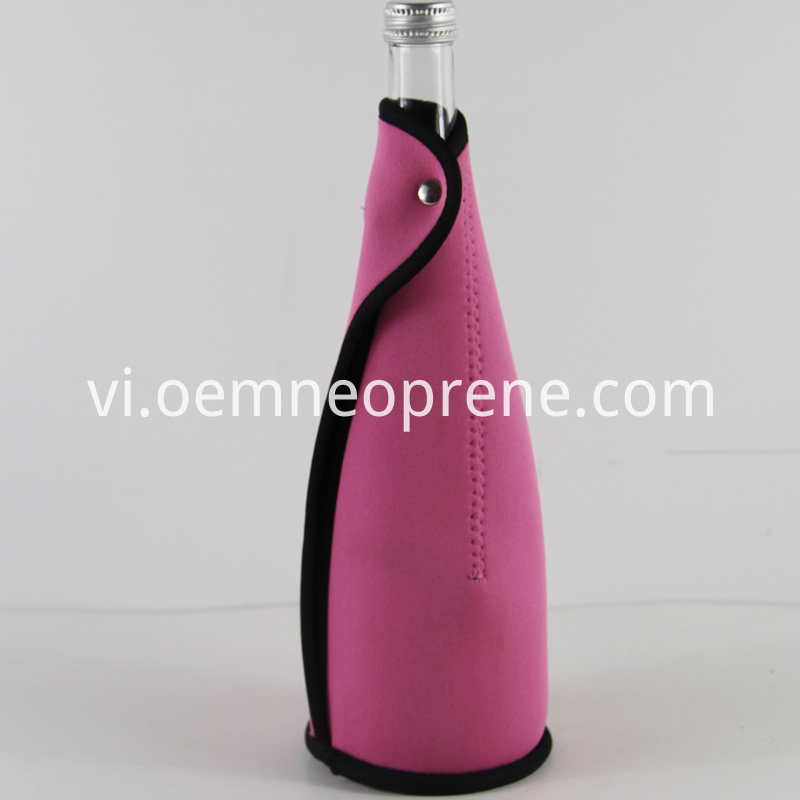 Binding champagne bottle holders