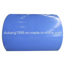 PPGI with Blue Color Painting From Shandong Dubang