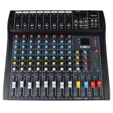 Console do mixer de som digital