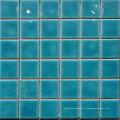 Simlpe Crack Glazed Azul Piscina