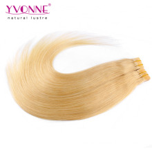 Color #613 Skin Weft Tape Hair Extensions