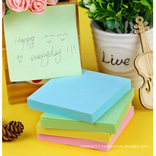 "Regular Sticky Notes in Memo Pads. 3X3"" 100sheets"