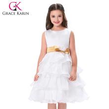 Grace Karin El más nuevo diseño florece los patrones blancos de las muchachas CL4841