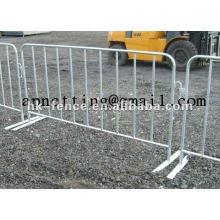Barrera peatonal v-foot bar barrera barreras barrera de control de multitud de tapón