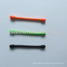 Lazo del cable del engranaje del silicón de la promoción