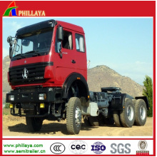 Sinotruck Shaman Beiben Cabeza de tractor Military Mover Prime