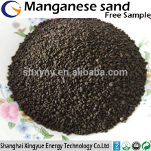 1-3mm 25-45% manganese greensand for water purification