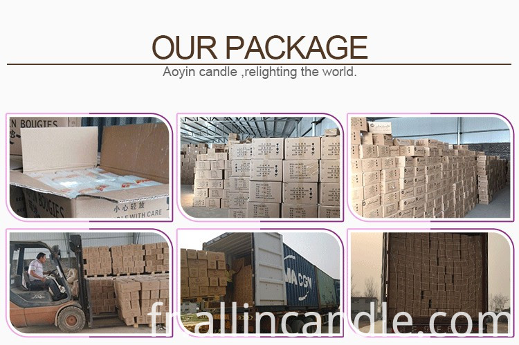 Our candle Package