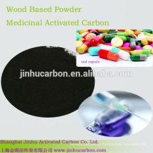 carbón activado en la decoloración de drogas