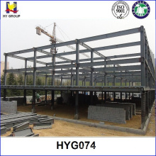 Múltiples plantas prefabricada de estructura de acero edificio de almacén