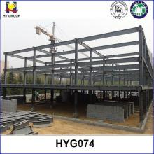 Edifício do armazém multi andares, estrutura de aço pré-fabricadas