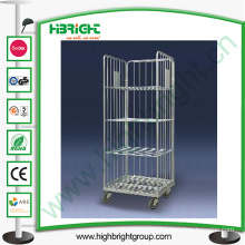 Logistic Warehouse Trolley Foldable Roll Container