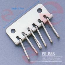Nickelfreie Ohrringe Zubehör für Schlüsselhalter Brieftasche (P2-28S)