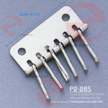 Accessoires de boucles d'oreilles sans nickel pour porte-clés (P2-28S)