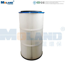 PTFE Pleated Filter Cartridge for Dust Collector
