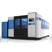 Máquina cortadora de metal con láser de fibra CNC