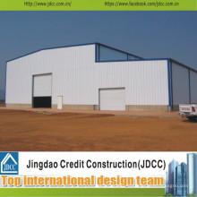 Высокое качество и низкая стоимость быстровозводимого сарая стальной структуры