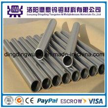 Fábrica de alta temperatura de 99.95% puro Molibdeno Mo, tubo tubo para horno del crecimiento cristalino