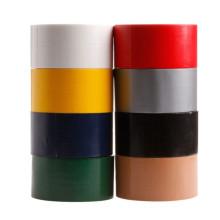 Venda quente de malha personalizada para serviço pesado de uma face fita adesiva de tecido preto de rasgo fácil de rasgar