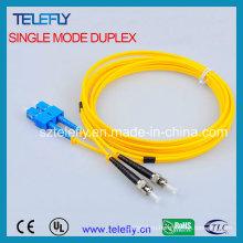 FC-St дуплексная оптоволоконная перемычка, соединительный кабель
