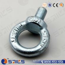 Hardware Rigging Galvanized DIN580 Eye Bolt Anchor Bolt