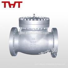 columpio mini válvula de retención del pistón de acero del paraguas del silicón dn100