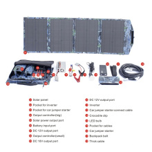 Carregador Solar Dobrável impermeável de 60W