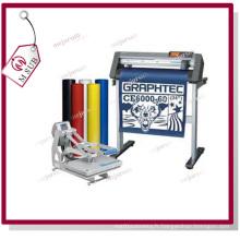 Unité centrale thermique transfert vinyle Roll pour Sportswear impression en 16 couleurs