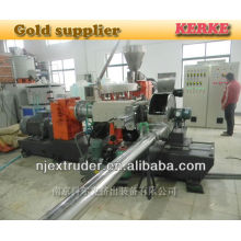 Buena línea de producción de granuladores de granos de PVC