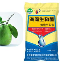 abono orgánico para hortalizas y frutas con regulador del crecimiento vegetal