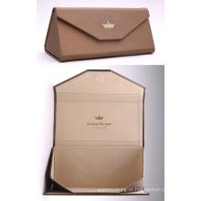 Qualidade personalizada caixa de vidro dobrável caixa de caixa de óculos dobrável
