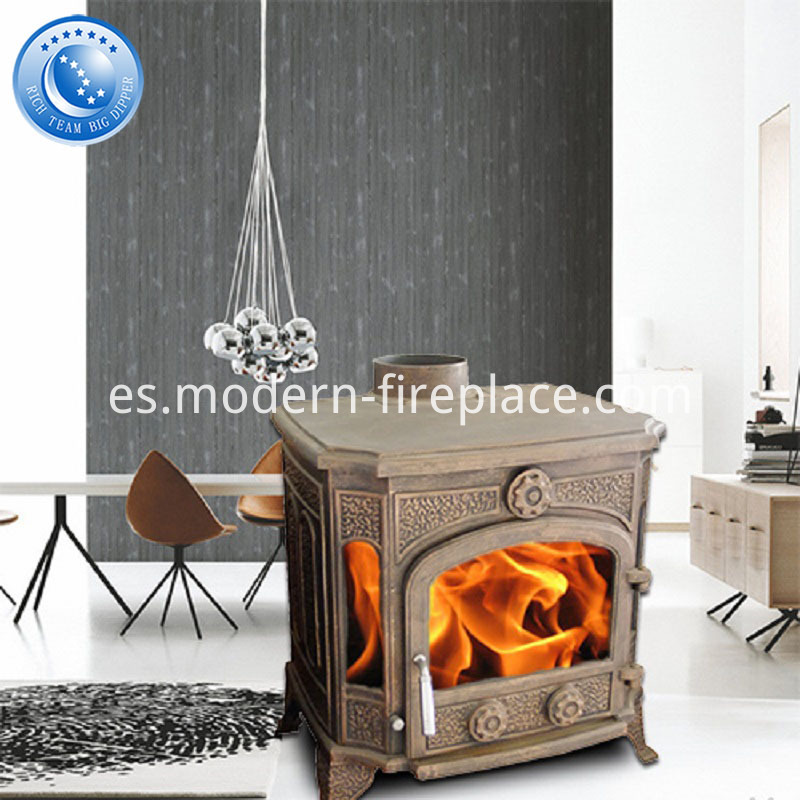 Cast Iron Wood Burning Stoves 11KW