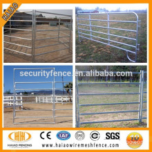 China haiao factory supply high quality steel tube corral fencing panels