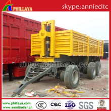 Three-Axle 11m - 12.5m Draw Bar Semi Trailer/Truck Trailer