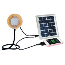 Wasser Beweis Solarleuchte mit Handy-Ladegerät
