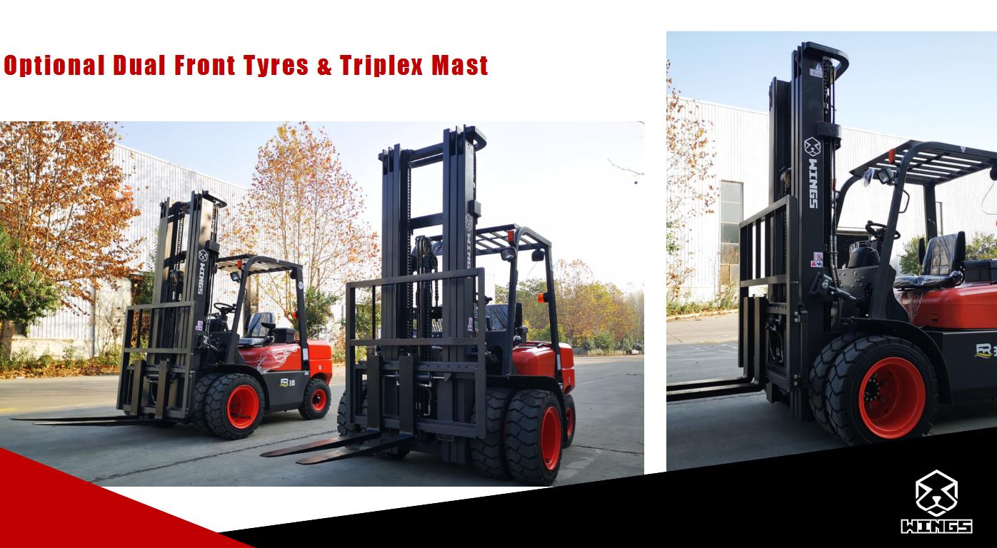 3 Tons Diesel Forklift 7