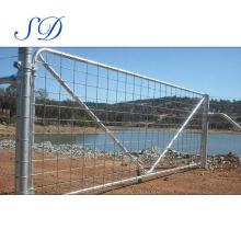 Portão de estada de fazenda animal com dobradiças de Brooker