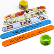 Slap Bracelet Manufacturer Custom Silicone Slap Bracelet, Silicone Slap Band, Silicone Slap Wristband