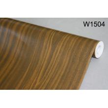 Película grabada de la decoración del PVC del grano de madera para los muebles interiores