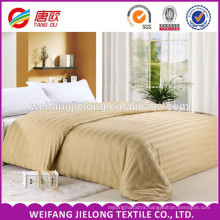 100% cotton fabric for bed sheets white satin stripe fabric100% cotton bleached satin stripe fabric for star hotel bed sheet