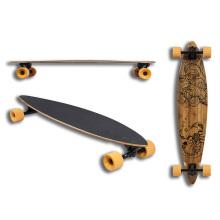 Bambú + arce canadiense Longboard (LCB-64)