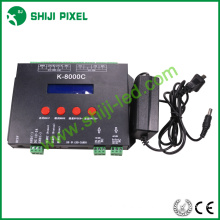 Nueva llegada 8000pxiels ws2812 controlador de tarjeta sd tira led SJ-K-8000C