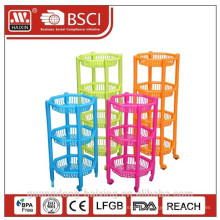 new design kitchen rack for plastic for supermarket