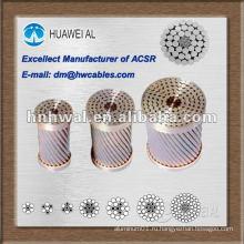 ACSR / AW (алюминиевые проводники с алюминиевой оболочкой из армированной стали)