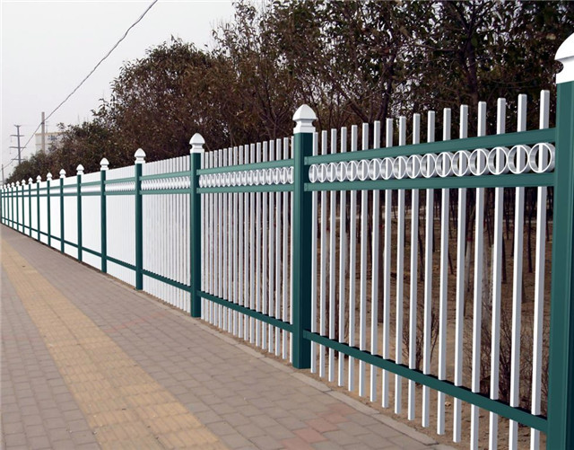 zinc steel fences
