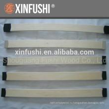 Изогнутые лакированные деревянные латы LVL