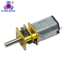 ETONM 12mm 6v mini dc gear motor with m3 m4 screw