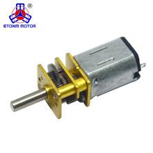 1.5V Safe lock Metal pequeno poderoso motores elétricos