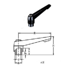 Indexed Clamping Lever With Threaded Insert (HK-100302)