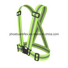 Reflexivo cinturón / cinturón de seguridad conductor de la bicicleta